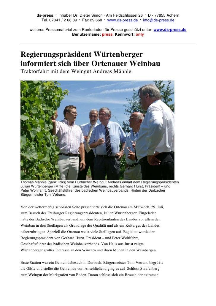 ds-press . Inhaber Dr. Dieter Simon · Am Feldschlössel 26 . D - 77855 Achern            Tel. 07841 / 2 68 89 . Fax 29 660 ...
