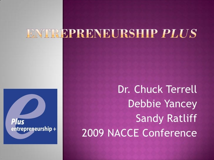 Dr. Chuck Terrell          Debbie Yancey            Sandy Ratliff 2009 NACCE Conference