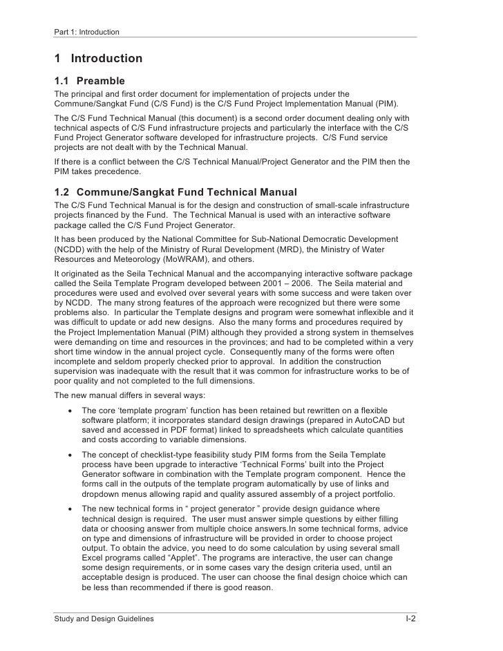 NcddCsfTechnicalManualVolIStudyDesignGuidelines