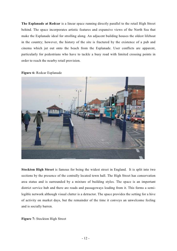 The Esplanade at Redcar is a linear space running directly parallel to the retail High Streetbehind. The space incorporate...