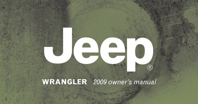 2009 jeep wrangler owners manual nj dealership www thejeepstore com rh slideshare net jeep owners manual download jeep owner manual pdf