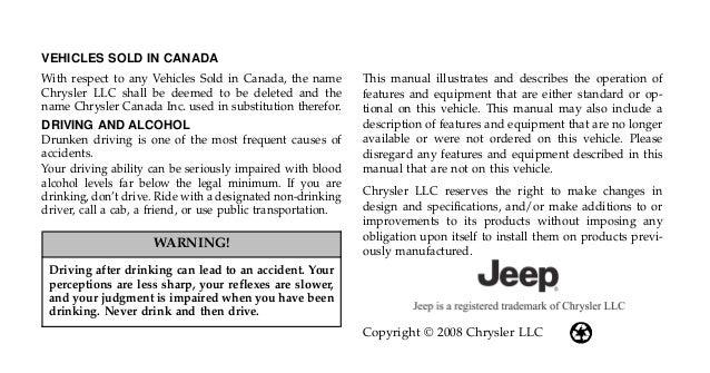 2009 jeep wrangler owners manual nj dealership www thejeepstore com rh slideshare net jeep wrangler owners manual 2000 jeep wrangler owner's manual 2001
