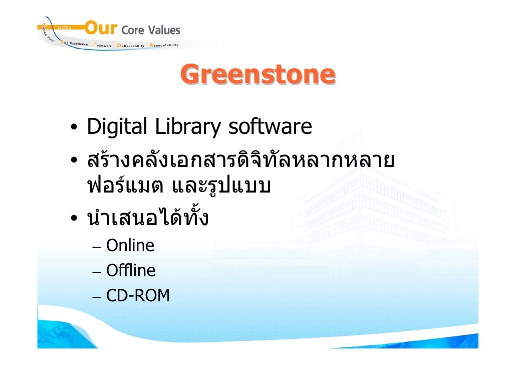 Category Digital library software