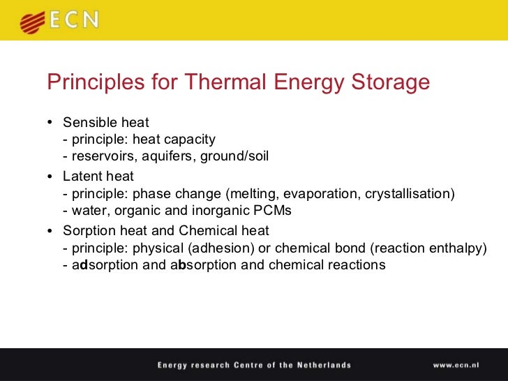 Compact Thermal Energy Storage