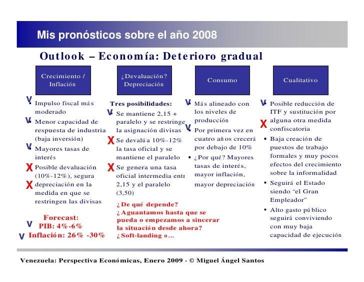 90678f2ff1903 Venezuela  Perspectivas Economicas (Enero, 2009)
