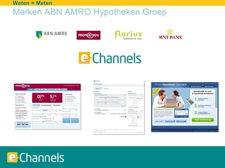 Customer Engagement 2.0 - ABN AMRO e-Channels Slide 2