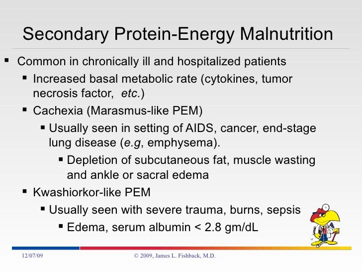 Nutritional Pathology