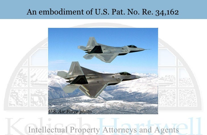 An embodiment of U.S. Pat. No. Re. 34,162 U.S. Air Force photo