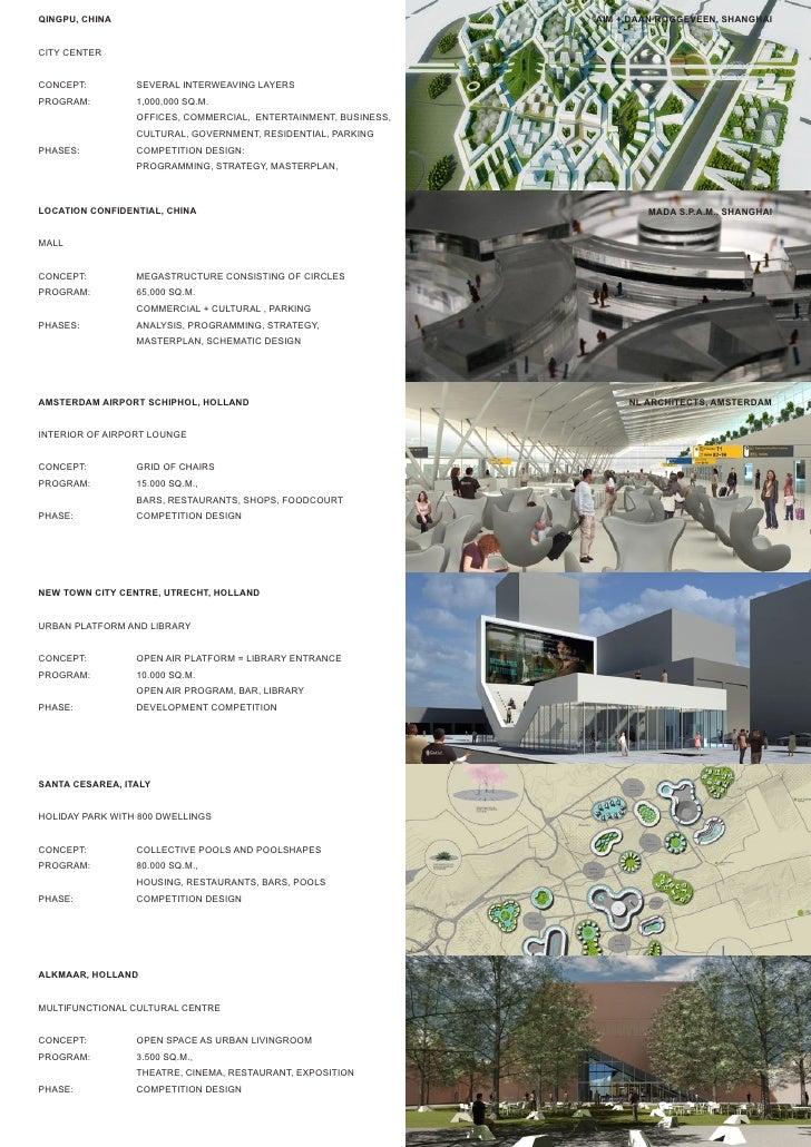 QINGPU, CHINA                                                    AIM + DAAN ROGGEVEEN, SHANGHAI   CITY CENTER   CONCEPT:  ...