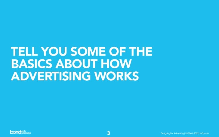 Designing For, With, and Around Advertising Slide 3