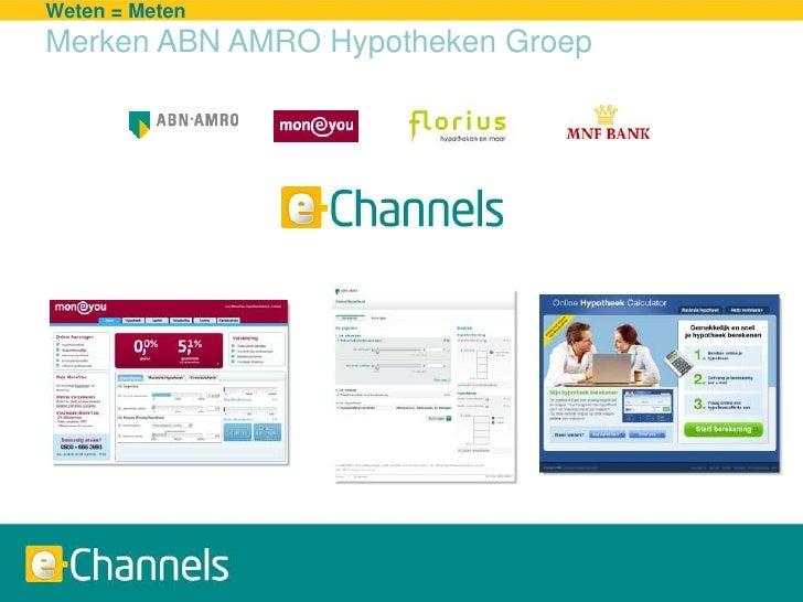 20090325 Presentatie Abn Amro E Channels Waw   Slideshare Slide 2