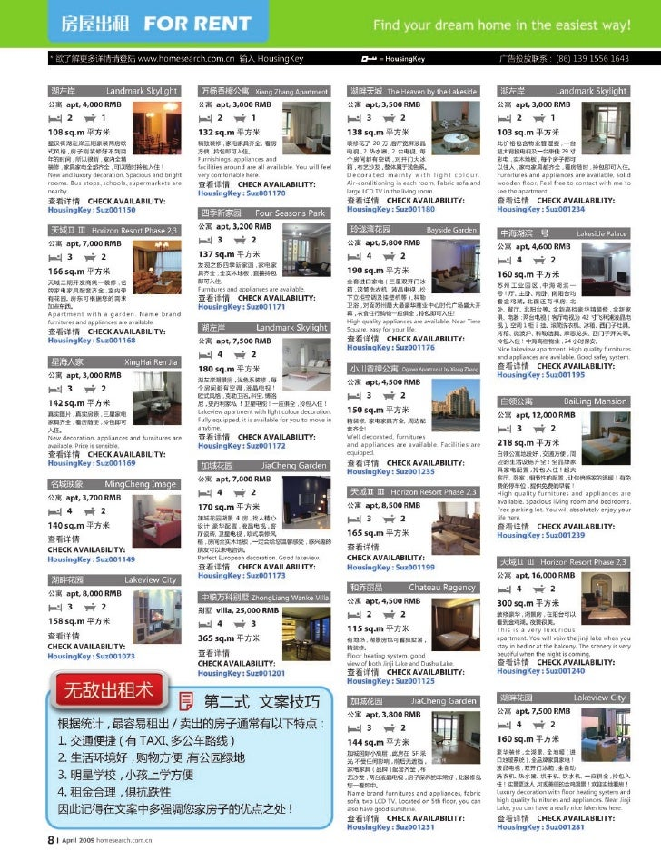 The April Issue of Property Express in Shanghai&Suzhou of China
