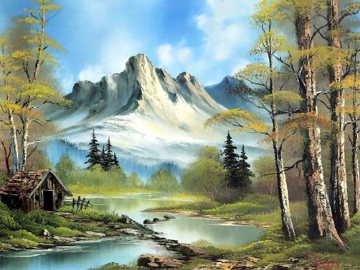 欣賞Ross的美麗油畫風景 Slide 3