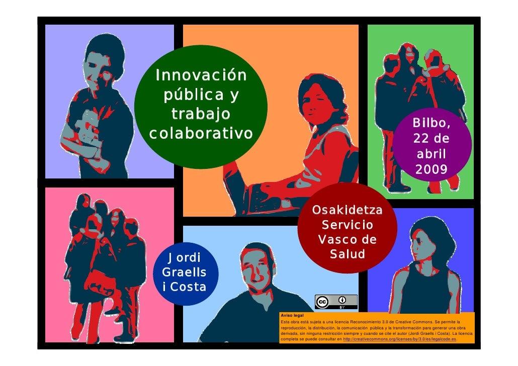 Innovación       pública y        trabajo                                                                                 ...