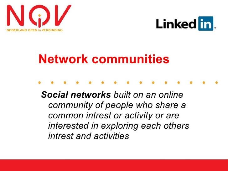 Sociale Netwerken       en    Verandering