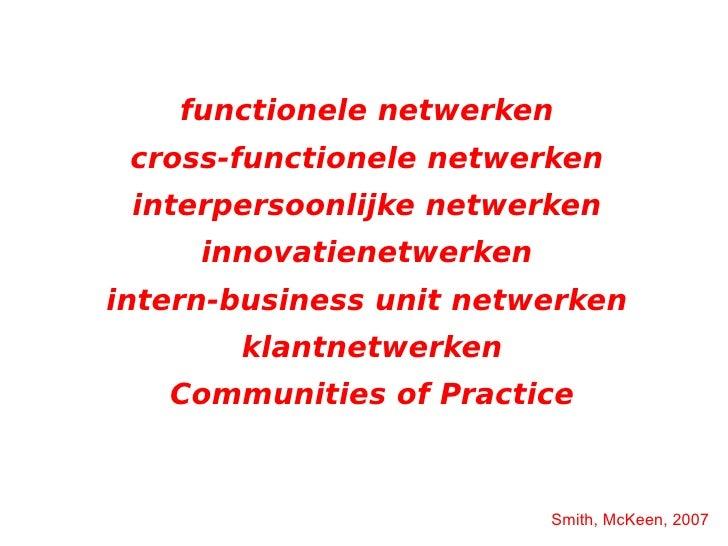 """""""managen van complexe veranderprocessen"""" (Cozijnsen, Vrakking, 2003)"""