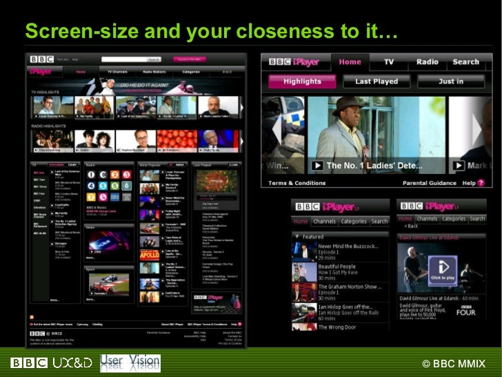 Screen-size and your closeness to it…
