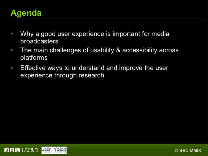 2009: User experience in action Slide 2