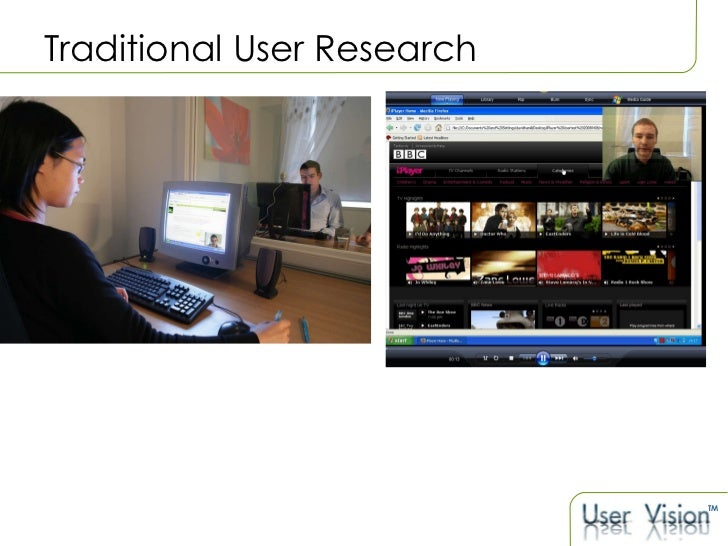 Traditional User Research