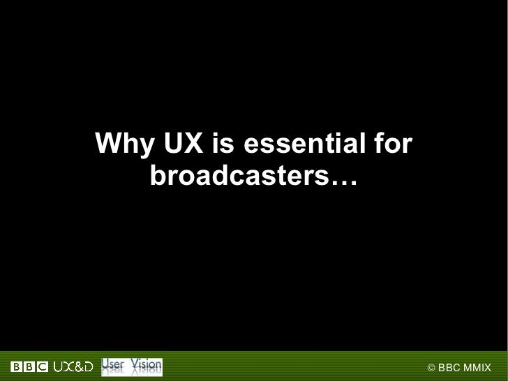 2009: User experience in action Slide 3