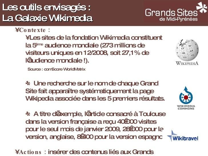<ul><li>Contexte : </li></ul><ul><ul><li>Les sites de la fondation Wikimedia constituent la 5 ème  audience mondiale (273 ...
