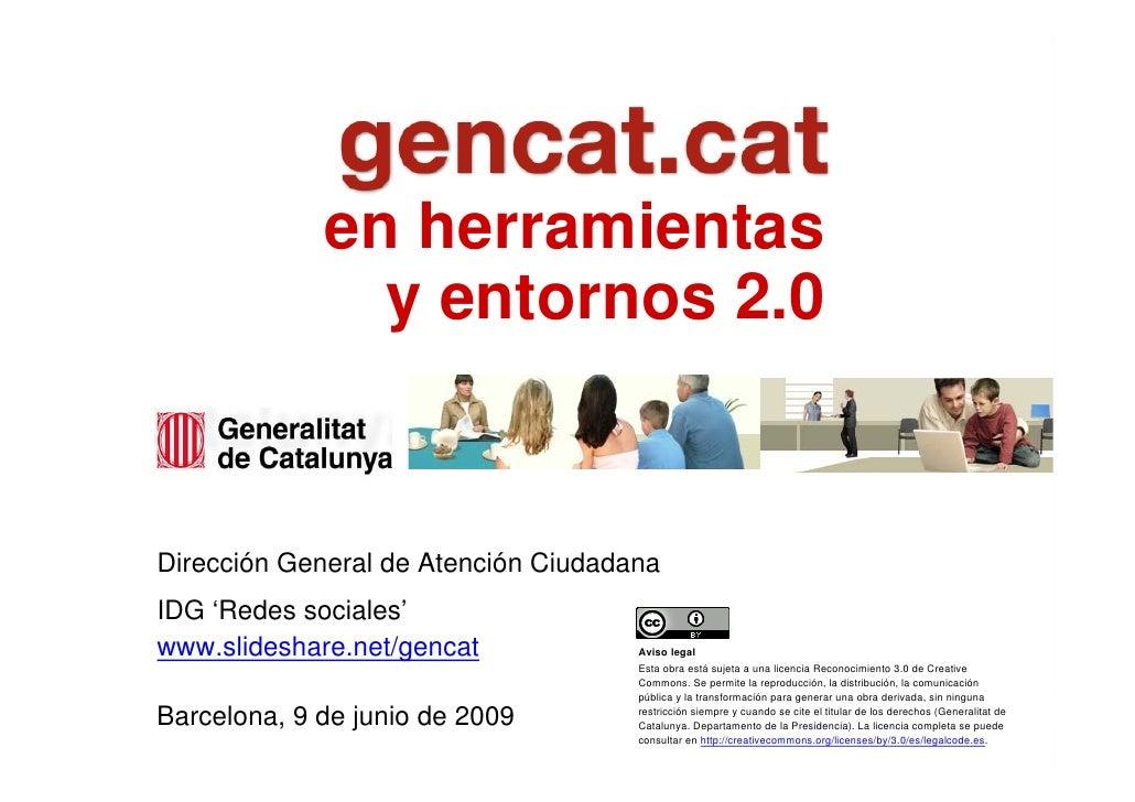 en herramientas                    y entornos 2.0       Marta Continente     Directora general de Atención Ciudadana     I...