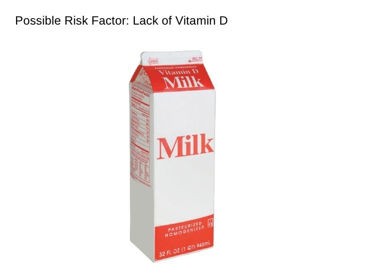 Possible Risk Factor: Lack of Vitamin D Family history