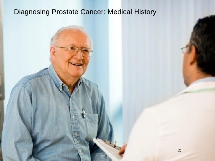 Diagnosing Prostate Cancer: Medical History