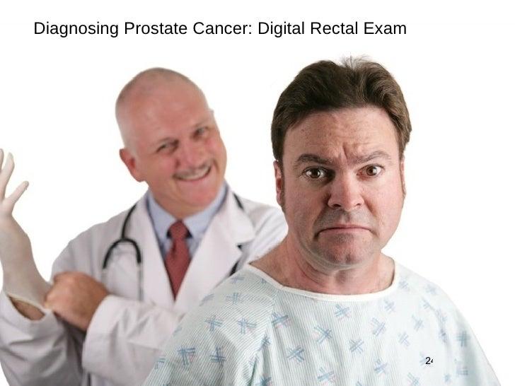Diagnosing Prostate Cancer: Digital Rectal Exam