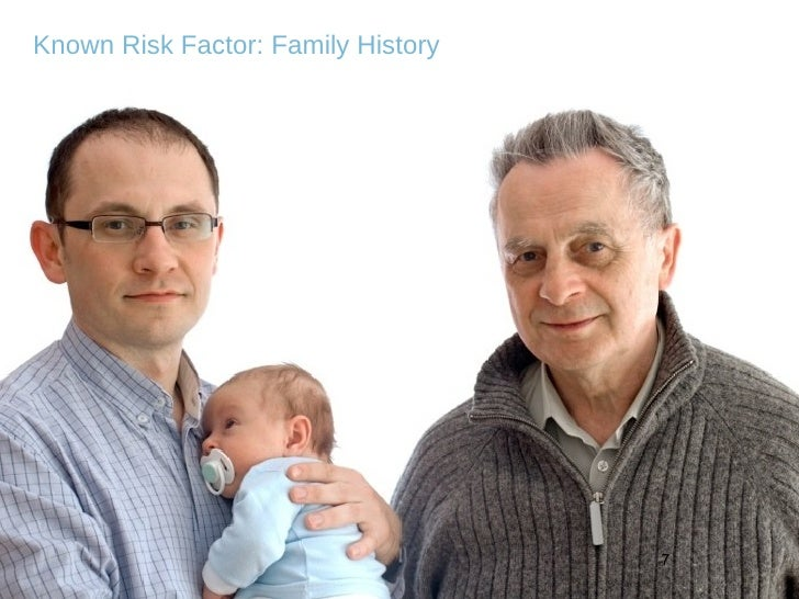 Known Risk Factor: Family History