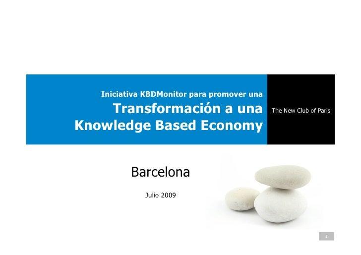 Iniciativa KBDMonitor para promover una      Transformación a una                     The New Club of Paris  Knowledge Bas...