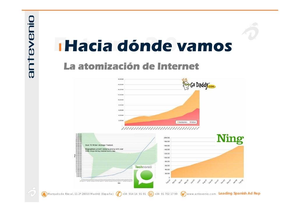 Entorno 2.0vamos      Hacia dónde            La atomización de Internet     Marqués de Riscal, 11 2ª 28010 Madrid (España)...