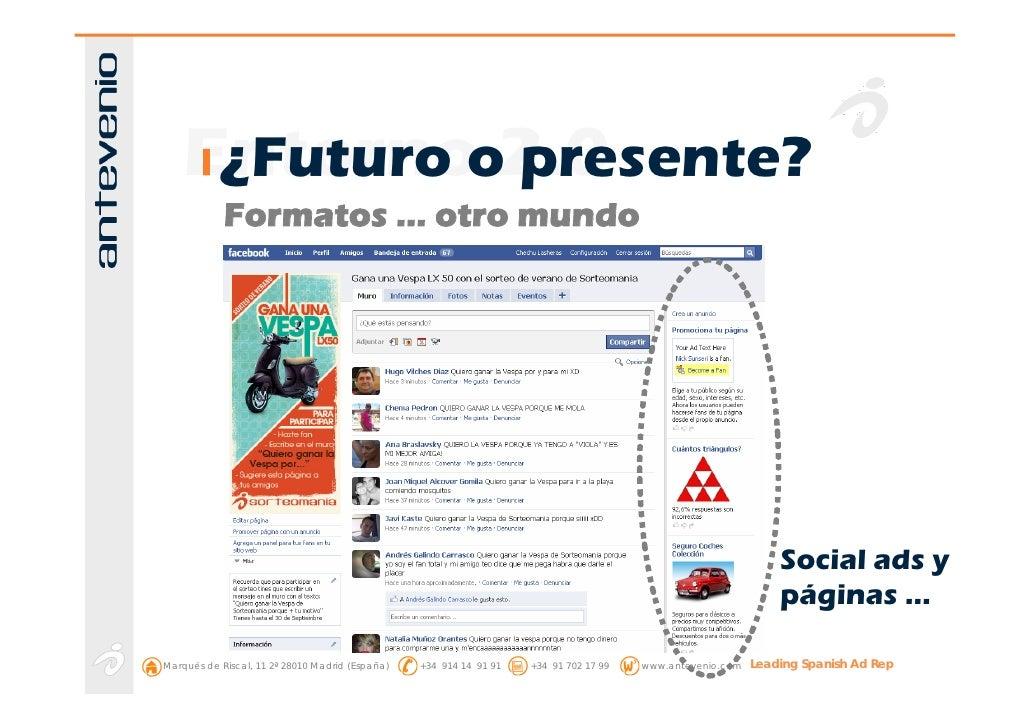 Entornoo2.0      ¿Futuro presente?             Formatos … otro mundo                                                      ...