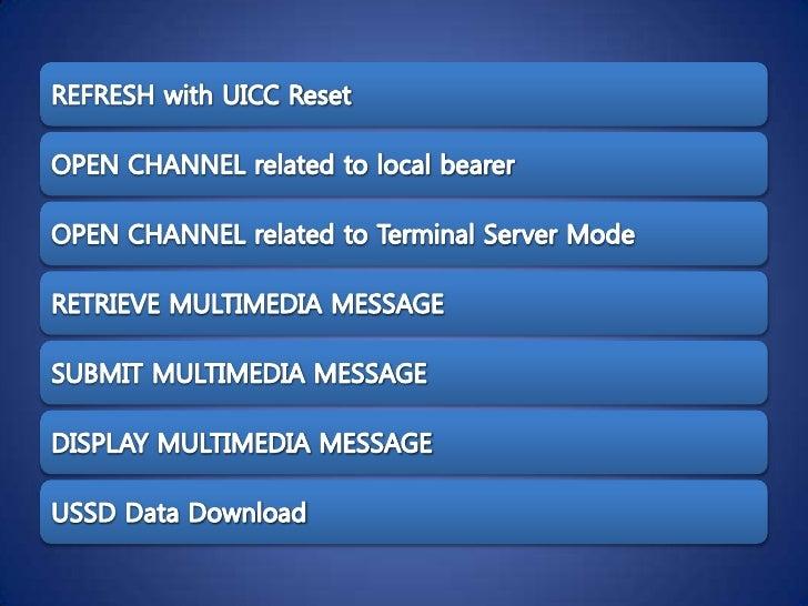 USAT : USIM Application Toolkit