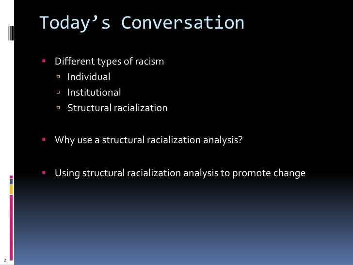 racialization example