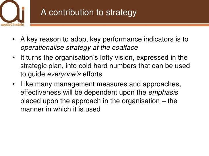 ... and the CEO swore some more.</li></li></ul><li>Key performance indicators defined<br />