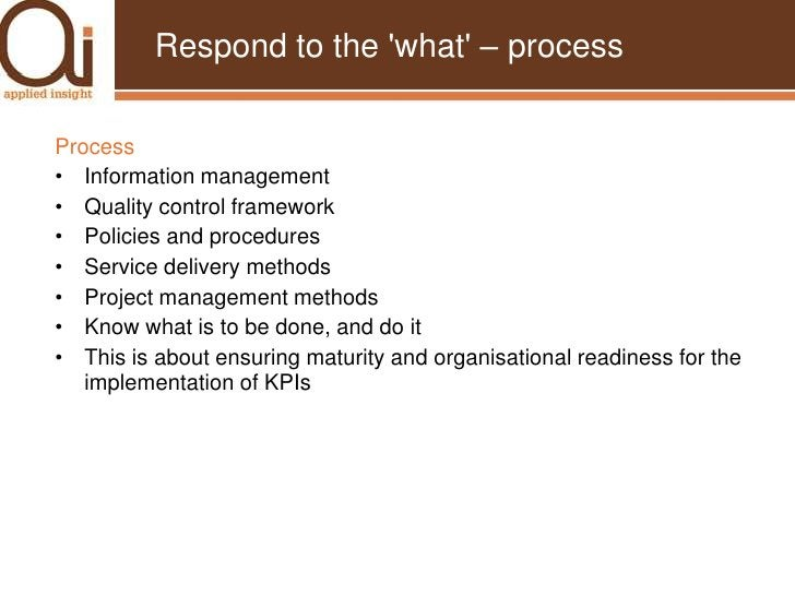 KPI Development & Implementation<br />Enoma et al (2007)<br />