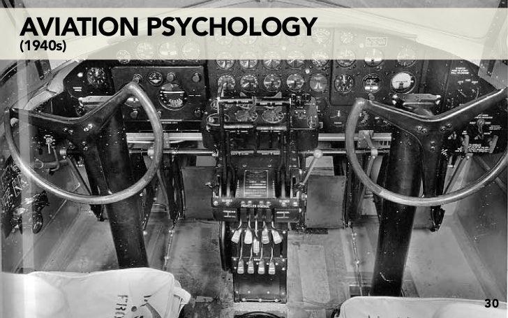 AVIATION PSYCHOLOGY (1940s)                           30