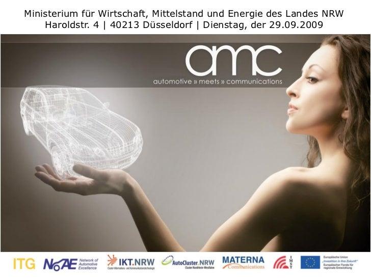 Ministerium für Wirtschaft, Mittelstand und Energie des Landes NRW    Haroldstr. 4 | 40213 Düsseldorf | Dienstag, der 29.0...