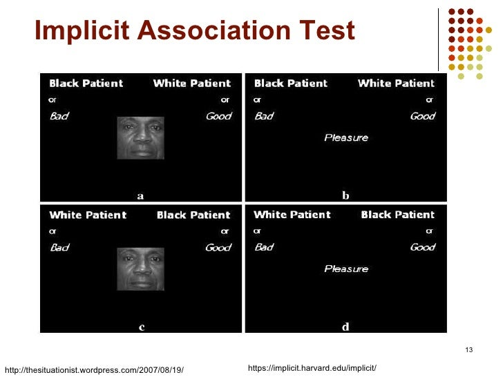 implicit association test In 2016, perception institute conducted the good hair study, the first study to examine implicit and explicit attitudes related to black women's hair.