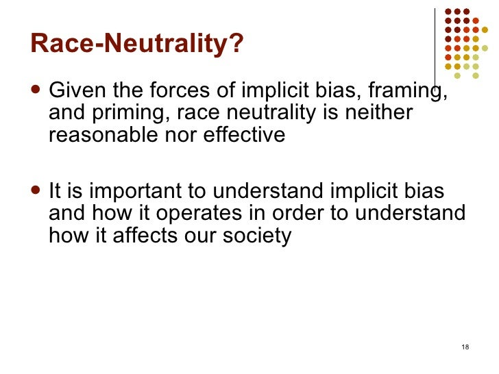 implicit racism in our society and the harvard implicit association test essay Implicit-association testing: does it have a place at your next job interview  essay by richard x thripp 2008-02-20 —     we live in a society of increasing equity of race, yet there is still  testing, first  introduced by project implicit of harvard university in 1998, where.