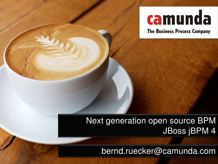 Next generation open source BPM<br />JBoss jBPM 4<br />bernd.ruecker@camunda.com<br />
