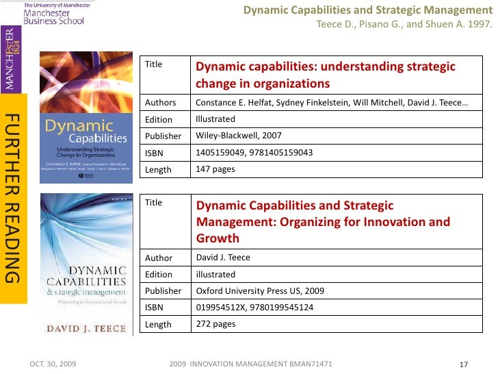 strategic management in dynamic environments Strategic planning, strategic management,  where an understanding of the current internal and external environments is developed, 2) strategy formulation,.