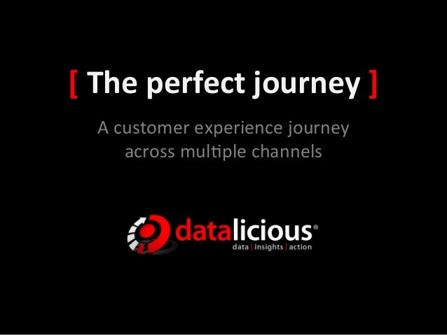 [	  The	  perfect	  journey	  ]	     A	  customer	  experience	  journey	           across	  mul3ple	  channels
