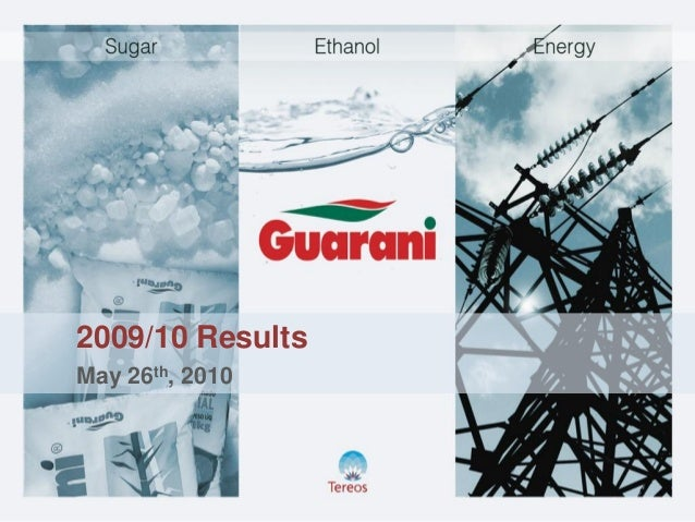 2009/10 Results May 26th, 2010