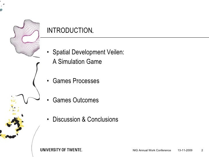 Adaptive Implementation of Spatial Policies: A Game Slide 2
