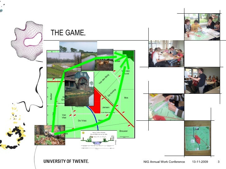 Adaptive Implementation of Spatial Policies: A Game Slide 3