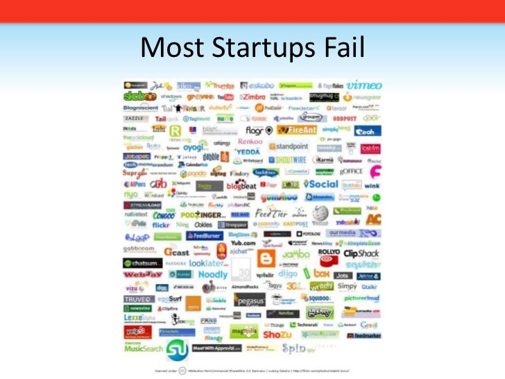 Most Startups Fail<br />