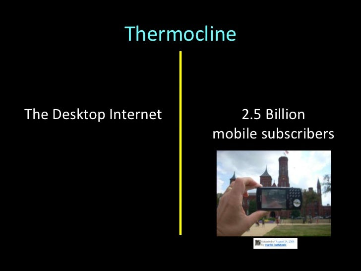 """Thermocline<br />Build an ascendant brandby""""doing work that matters""""<br />Make money, now<br />""""Once [the Smithsonian] has..."""