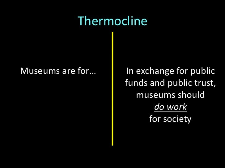 Institutions (?) built onthe model of <br />social entrepreneurship:<br />Think Big,Start SmallMove Fast<br />Thermocline<...